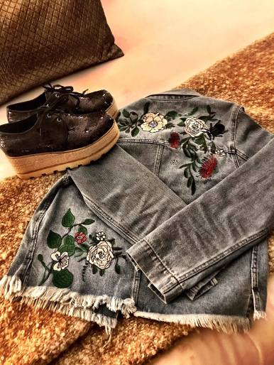 Embroidered Denim Jacket from I <3 Coachella (H&M)